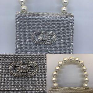 Rhinestone handbag, Bella collection